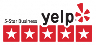 5 Star business on Yelp