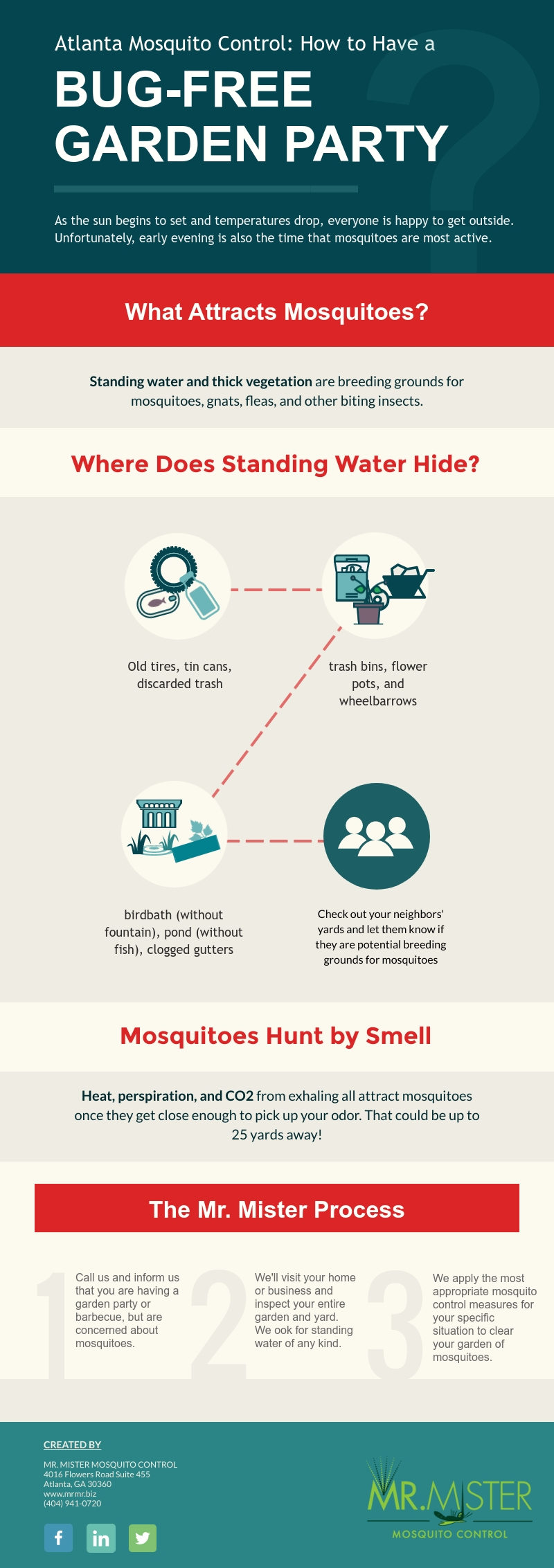 Have a Bug-Free Garden Party [infograpic]