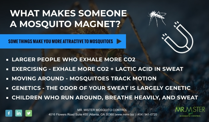 Who Do Mosquitoes Bite Most [infographic]